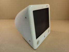 Apple eMac PowerMac 4 4 PowerPC G4 17in 700MHz 40GB Hard Drive A1002 EMC... - $117.75