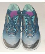 Fila Stellaray Womens Blue Mesh Athletic Lace Up Running Shoes Sz 9.5 - $10.79