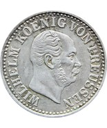 1872 A ½ Groschen Wilhelm I Germany Kingdom of Prussia Silver Coin (MO15... - $16.00
