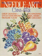 1976 McCall's Needle-Art Cross Stitch Xmas Stockings Train Deer Mallards... - $12.99