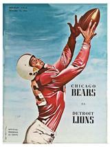 Detroit Lions 1956 Football Program Poster - FREE Shipping - $9.99