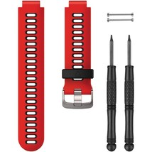 Garmin(R) 010-11251-0N Forerunner(R) 735XT Accessory Band (Lava Red) - $58.27