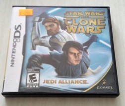 Star wars the Clone Wars Jedi Alliance Nintendo Ds Video Game  - $5.27