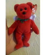 Ty Baby Beanie Divine the Angel Bear Holiday Ornament (2009) Pre-owned C... - $12.19
