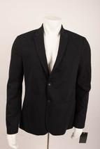 Zara Man Men's Suit Jacket Blazer XL Black Stretch Textured Pockets 1608... - $95.03