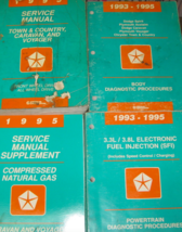 1995 Dodge Caravan Plymouth Voyager Chrysler Town & Country Service Manual Set - $23.71