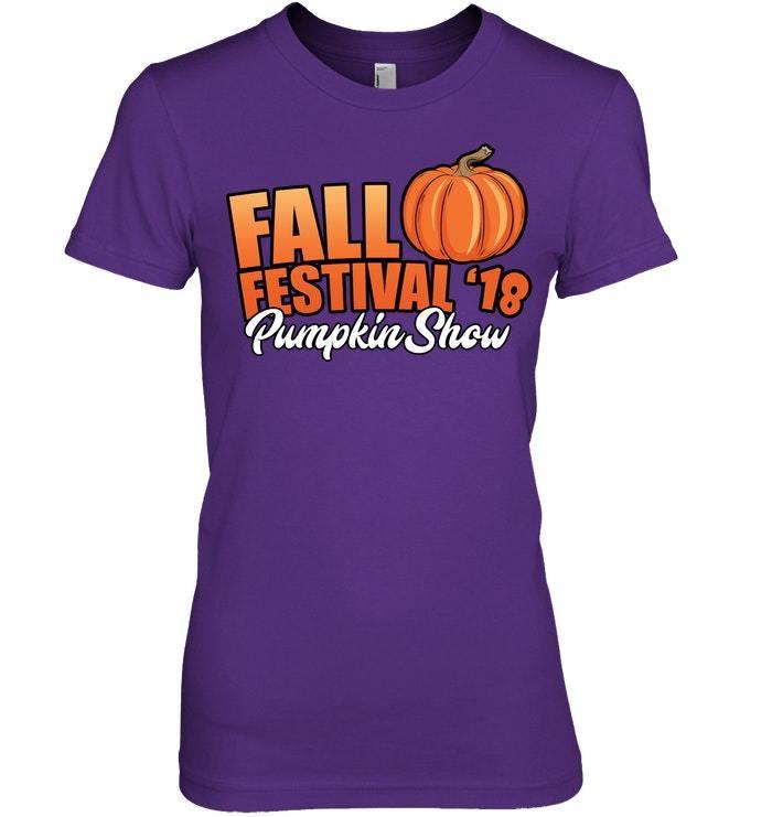 Fall Festival 2018 Pumpkin Show Tshirt