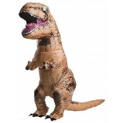 Rubies  Adult Jurassic World Inflatable T-Rex Trex Halloween Costume 810481