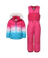 NEW Snozu Kids' 2-piece Snowsuit, Pink Ombre SELECT KIDS SIZE FREE SHIPPING - $44.99