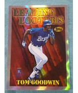 1997 Topps Season's Best #SB22 Tom Goodwin Kansas City Royals Baseball Card - $1.00