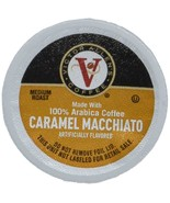 VICTOR ALLEN CARAMEL MACCHIATO SINGLE SERVE KCUP 80 CT COMPATIBLE W 2.0 ... - $33.69