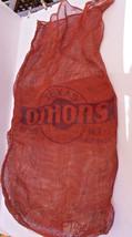 Vintage WWI era~ TEXAS ONION SACK decor item - $14.84