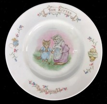 Beatrix Potter Tom Kitten 1986 Royal Albert Porcelain Child's Collector ... - $18.65