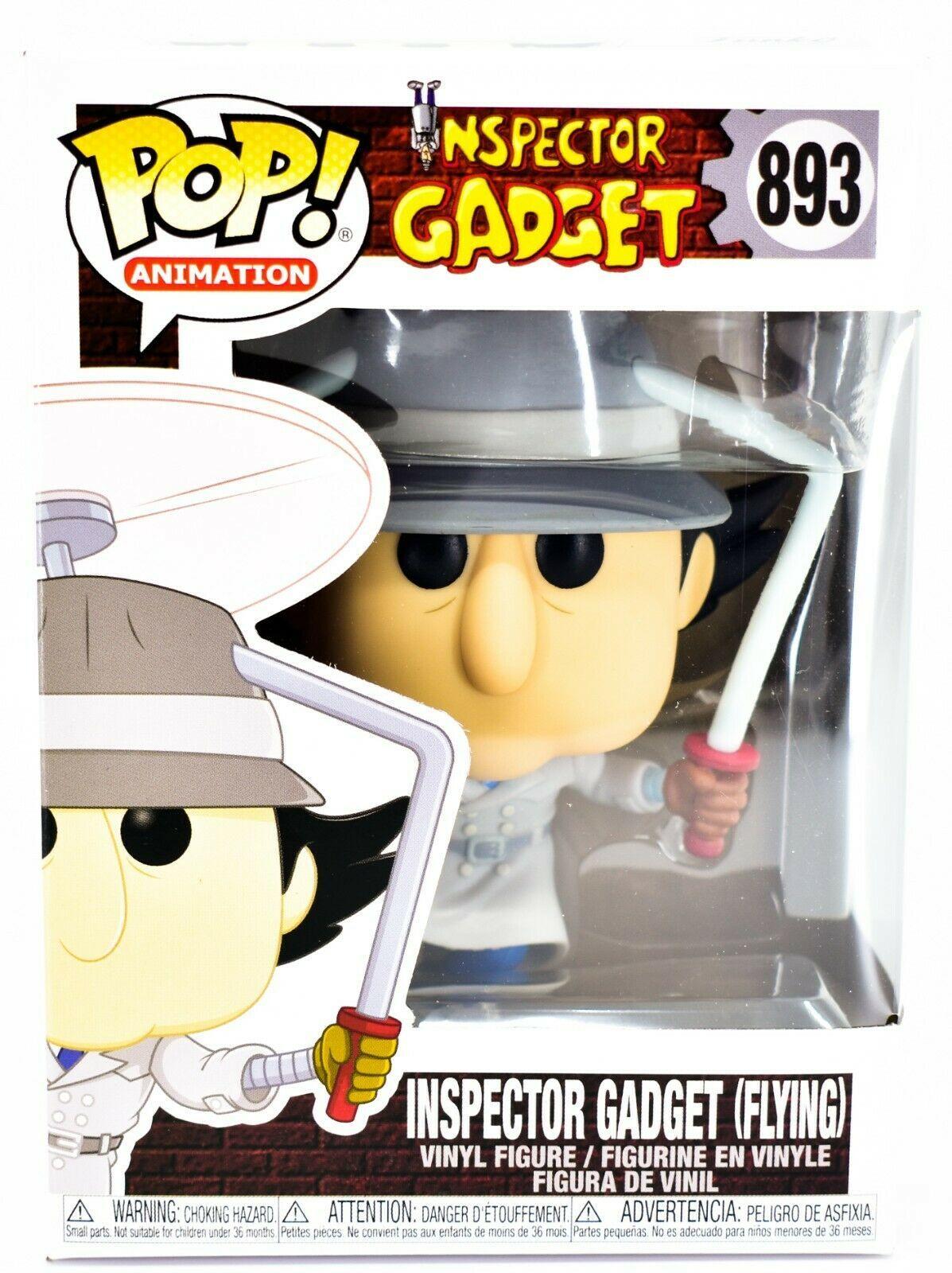 Funko Pop! Animation Inspector Gadget (Flying) #893 Vinyl Action Figure