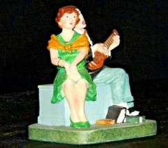 """Serenade"" by Norman Rockwell Figurine AA19-1659 Vintage image 6"