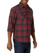 Wrangler Mens Premium Slim Fit MultiColor Western Style Plaid Shirts M & 2XL NWT - $15.99