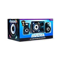 Bugha Exclusive LED Gaming Speakers & subwoofer Set, 3.5mm aux-in - $17.29
