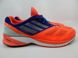 Adidas AdiZero Tempo 6 Sz 12.5 M (D) EU 47 1/3 Men's Running Shoes Orange Q21502