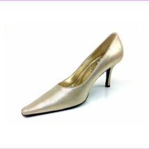 "Versani ""Stella"" Platinum Heels  Womens US Size 7.5 B - $31.78"