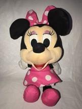 "Fisher Price Talking Minnie Mouse Plush 12"" Disney Stuffed Animal 2013 - $14.84"