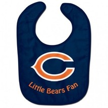 NFL Chicago Bears Baby Infant ALL PRO BIB LITTLE FAN Blue - €14,39 EUR