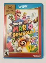 Super Mario 3D World 2016 Nintendo Selects Wii U Video Game CIB Complete - €15,60 EUR