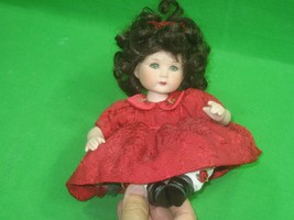 Marie Osmond Doll Tiny Tot Classic Rose Bud Signed 2003 - $27.07