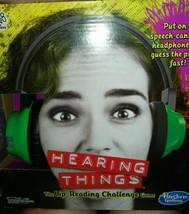 Brand New Hasbro Hearing Things Lip-reading Gamel - $19.80