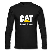 Caterpillar Diesell Power Custom Long Sleeve T-Shirt Gildan  XS S M L XL... - $36.12+