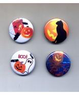 Set of 4 Halloween Pins 1.5 inch Metal - $6.95