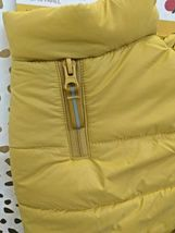 BOOTS AND BARKLEY Yellow Dog Puffer Jacket Vest NEW! --SIZES L & Sm AVAILABLE image 11