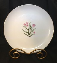 Grantcrest China Pink Orchid Set Of 6 Dinner Plates - $34.73