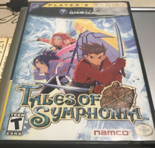 Nintendo Gamecube TALES OF SYMPHONIA- Case, Artwork & Disc One Only Play... - $10.58