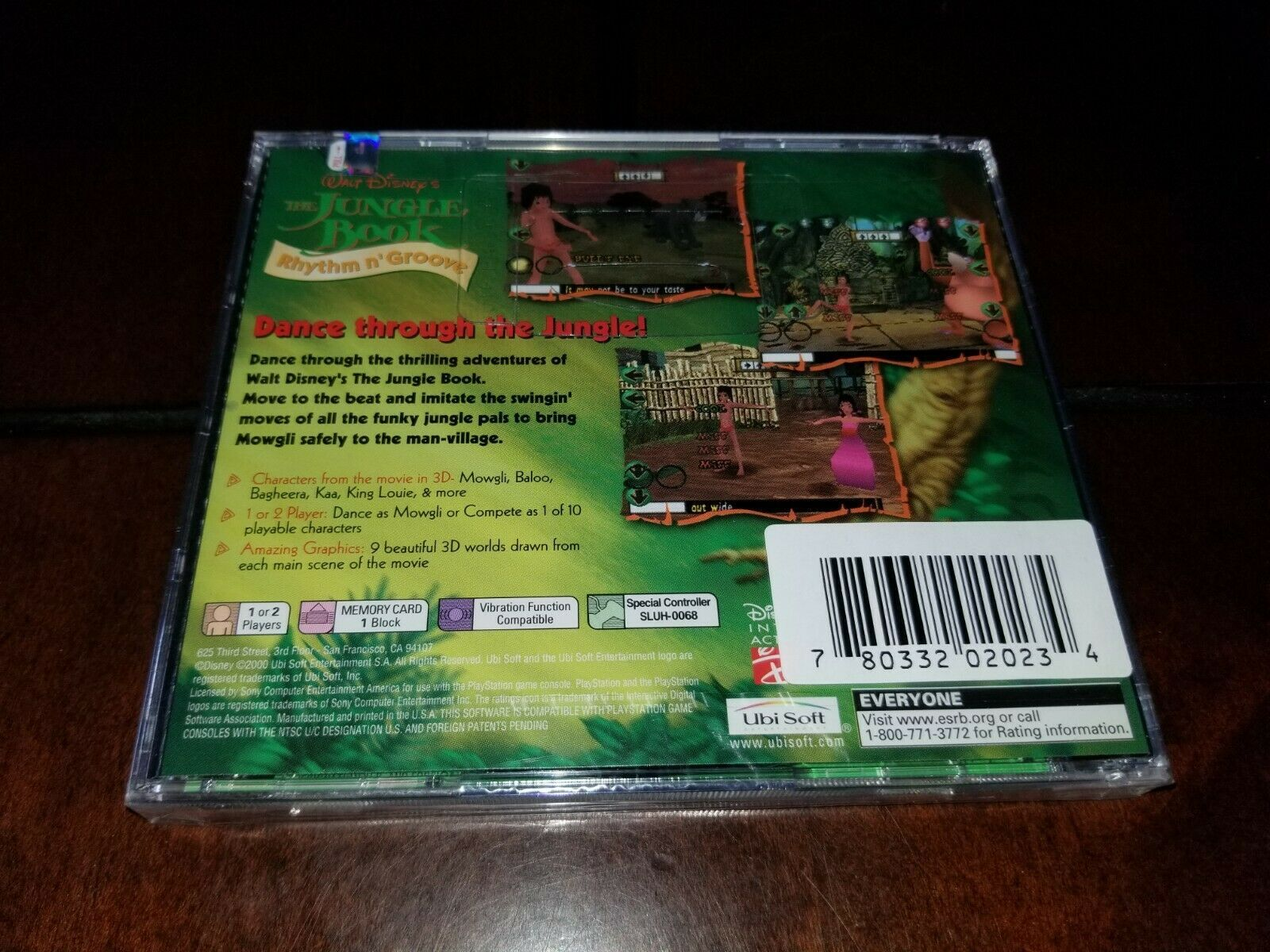 The Jungle Book Rhythm n' Groove Black Label PS1 Brand New **Inv02538** image 2