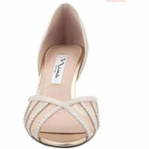 Nina Corita womens Pumps Ivory 7.5M - $37.80