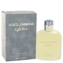 Dolce & Gabbana Light Blue Pour Homme Cologne 6.7 Oz Eau De Toilette Spray image 3