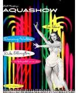"Playbill - Vintage ""Aquashow"" ""1950's"" - $6.00"