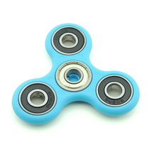 Idget spinner edc finger hand spinner focus anxiety stress relief desk toy blue bearing thumb200