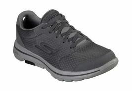 Men's Skechers GOwalk 5 Qualify Walking Shoe Charcoal/Black - $88.17