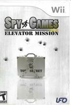 Spy Games: Elevator Mission (Nintendo Wii, 2007)  - $4.99
