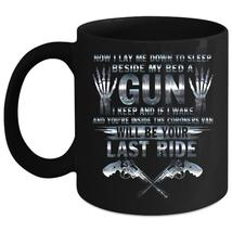 Now I Lay Me Down To Sleep Coffee Mug, Your Last Ride Coffee Cup - $21.99