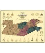 Roxbury Massachusetts - Boynton 1849 - 23.00 x 31.00 - $36.58+