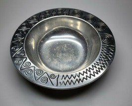 Rwp Wilton Armetale Reggae Serving Bowl Salad Cast Aluminum For Mid Century - $26.99