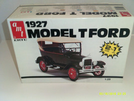 AMT 6582 1927 Ford Model T 2 in 1 kit  1/25 scale - $24.19