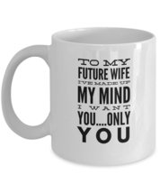 To My Future Wife - Marriage Anniversary Gift - Wedding Anniversary Gift For Her - $13.95