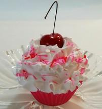 Valentine Cupcake fake prop display home decoration - $8.41