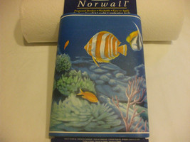 Prepasted Wallpaper Border  Washable Aquarium Ocean Marine Life - $8.90