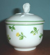 Wedgwood Summer Dream Sugar Bowl with Lid Rose Pattern Germany New - $29.90