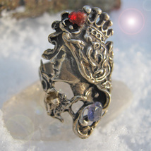 Haunted Antique Ring Ancient Queen Of Riches Extreme Magick Mystical Treasures - $277.77