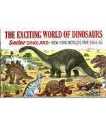 The Excting World Of Dinosaurs, Sinclair Dinoland, N.Y. World's Fair 196... - $3.50